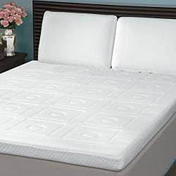 Swiss Lux Euro Extraordinaire 3-inch Memory Foam Quilted Mattress Topper