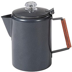 Stansport 12-cup Black Granite Percolator Coffee Pot