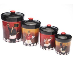 Certified International 'Bistro' Canister (Set of 4)