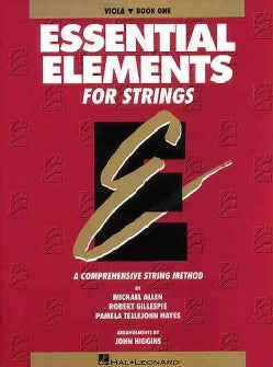 Essential Elements for Strings: Viola, Book 1 (Paperback)