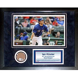 Steiner Sports Ian Kinsler 11x14 Mini Dirt Collage