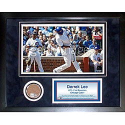 Steiner Sports Derrek Lee 11x14 Mini Dirt Collage