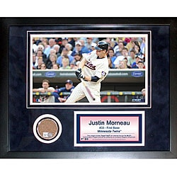 Steiner Sports Justin Morneau 11x14 Mini Dirt Collage