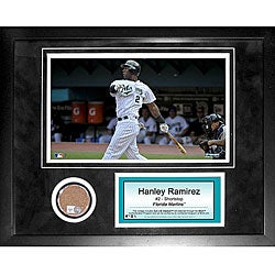 Steiner Sports Hanley Ramirez Mini Dirt Collage