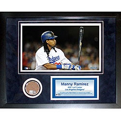 Steiner Sports Manny Ramirez Mini Dirt Collage