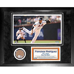 Steiner Sports Francisco Rodriguez Mini Dirt Collage