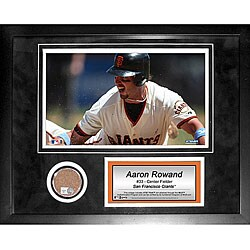 Steiner Sports Aaron Rowand 11x14 Mini Dirt Collage