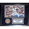 Steiner Sports Justin Verlander 11x14 Mini Dirt Collage