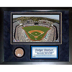 Steiner Sports Dodger Stadium Mini Dirt Collage