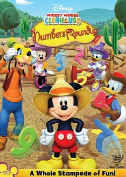 Mickey Mouse Clubhouse: Mickey's Numbers Roundup (DVD)