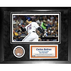 Steiner Sports Carlos Beltran Mini Dirt Collage