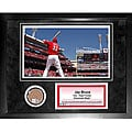 Steiner Sports Jay Bruce Mini Dirt Collage