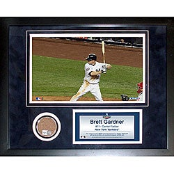 Steiner Sports Brett Gardner 11x14 Mini Dirt Collage