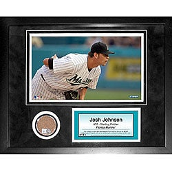 Steiner Sports Josh Johnson 11x14 Mini Dirt Collage