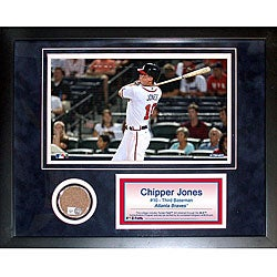 Steiner Sports Chipper Jones 11x14 Mini Dirt Collage