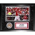 Steiner Sports Joey Votto 11x14 Mini Dirt Collage