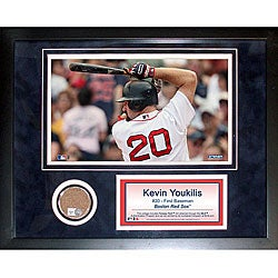 Steiner Sports Kevin Youkilis 11x14 Mini Dirt Collage