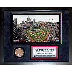 Steiner Sports Progressive Field 11x14 Mini Dirt Collage
