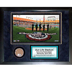 Steiner Sports Sun Life Field Mini Dirt Collage