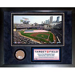 Steiner Sports Target Field Mini Dirt Collage