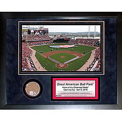 Steiner Sports Great American Ball Park Mini Dirt Collage