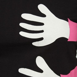Aegean Apparel Juniors '3 Hands' T-shirt