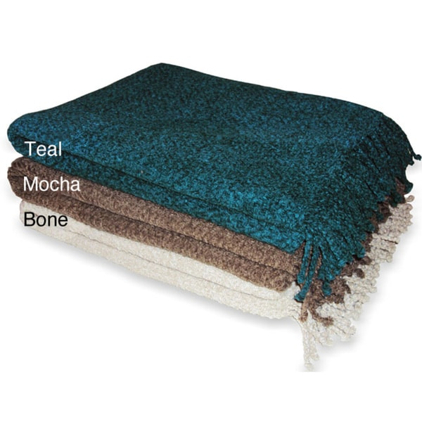 Herringbone Chenille Throw