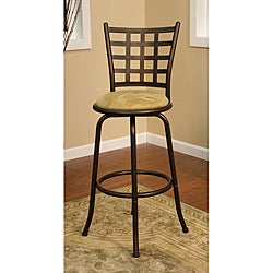 Carrizo Topaz Metal Counter Stool