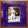 Boat Wood Princely Purple Picture Frame (Thailand)