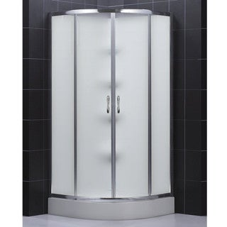 DreamLine Sector Shower Enclosure & Backwall Kit 36x36