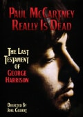 Paul McCartney Really Is Dead: The Last Testament of George Harrison (DVD)