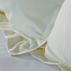 Luxor Treasures Egyptian Cotton Soft 400 Thread Count Solid Sateen Finish 3-piece Duvet Set