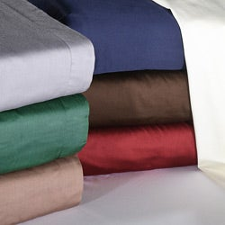 Egyptian Cotton Soft 400 Thread Count Solid Sateen Finish 3-piece Duvet Set
