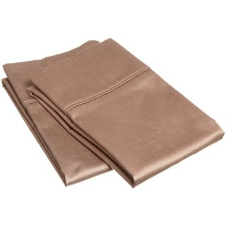 Egyptian Cotton 400 Thread Count Solid Pillowcase Set