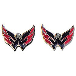 Washington Capitals NHL Charm Post Stud Logo Earring Set