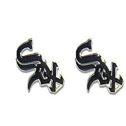 Chicago White Sox MLB Charm Post Stud Logo Earring Set