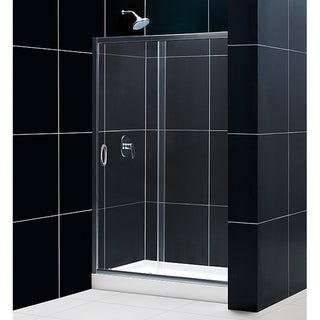 DreamLine Infinity 44-48x72-inch Framed Shower Door with Clear Glass