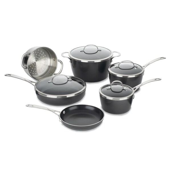 Cuisinart Greenware Eco-Friendly Nonstick 10-piece Cookware Set