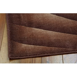 Nourison Summerfield Brown Geometric Rug (7'9 x 10'10)