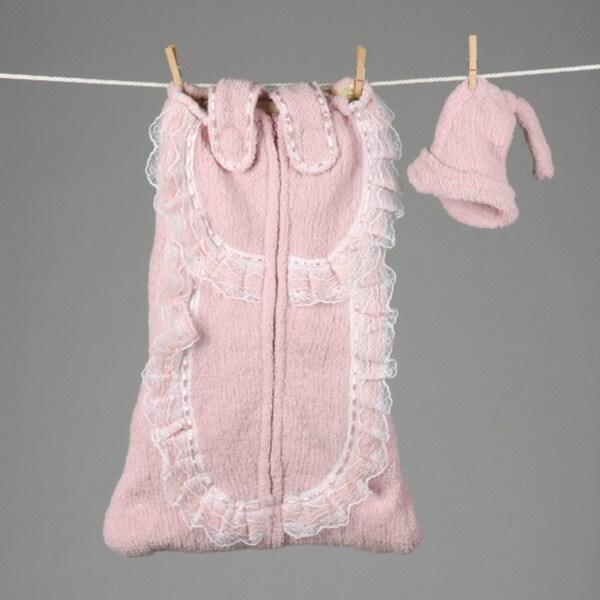 Mia Belle Baby Pink Slumber Tote