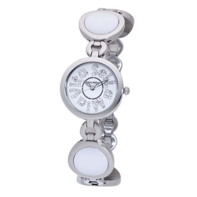 Haurex Italy Women's 'Seila Mia Vita' White Ceramic Watch