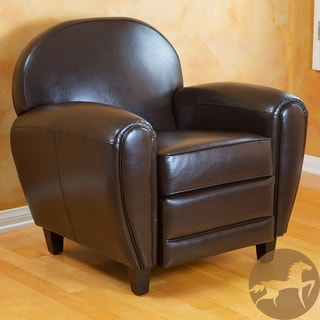Christopher Knight Home David Brown Bonded Leather Club Chair