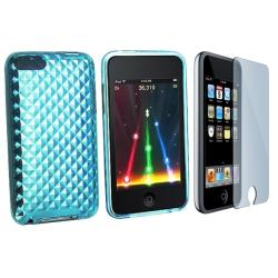 INSTEN iPod Case Cover/ Screen Protector for Apple iPod Touch Gen2