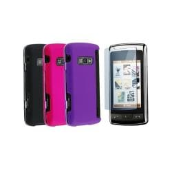 INSTEN 4-piece Phone Case Cover Set for LG EnV Touch VX11000
