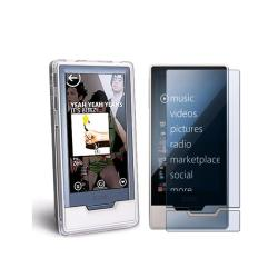 Case and Screen Protector for Microsoft Zune HD