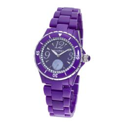 Haurex Italy Women's 'Make Up' Purple Piastceamic Watch