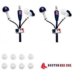 Nemo Digital MLB Boston Red Sox Earbud Headphones (Set of 2)