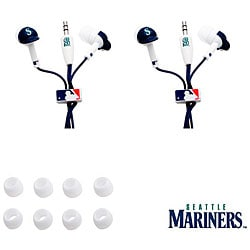 Nemo Digital MLB Seattle Mariners Earbud Headphones (Set of 2)
