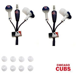 Nemo Digital MLB Chicago Cubs Earbud Headphones (Set of 2)