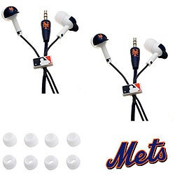 Nemo Digital MLB New York Mets Earbud Headphones (Set of 2)